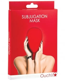 Shots Ouch Subjugation Mask - Red
