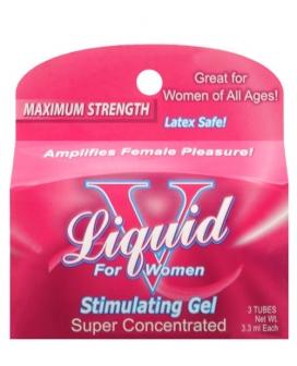 Liquid V Female Stimulant - Pillow Box of 3