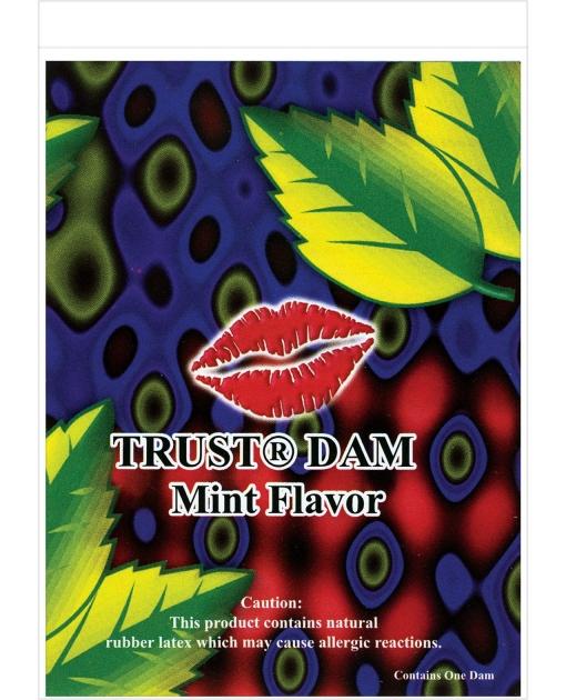 Latex Dental Dam - Mint