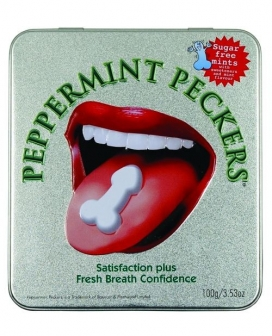 Extra Naughty Peppermint Pecker Mints