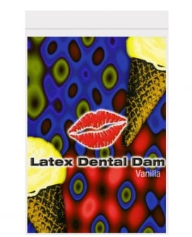 Latex Dental Dam - Vanilla