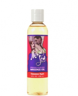 Making Love Massage Oil - 8 oz Cinnamon Apple