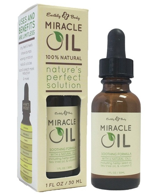 Earthly Body Hemp Miracle Oil - 1 oz