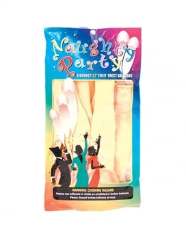 """22"""" Naughty Party Penis Balloons - Flesh Pack of 8"""
