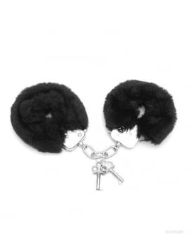Love Cuffs Furry - Black