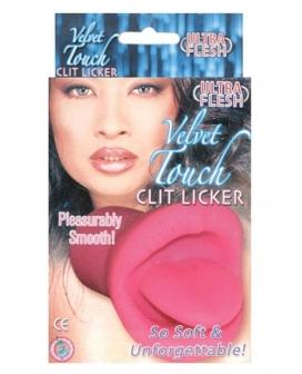 Velvet Touch Clit Licker - Pink
