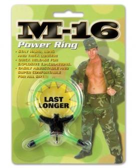 M-16 Power Ring - Green