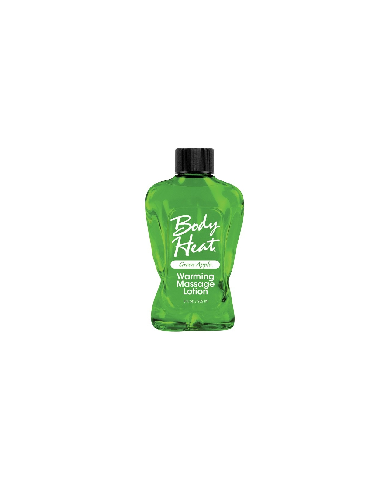 Body Heat Lotion - 8 oz Green Apple