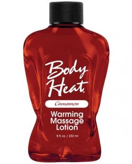 Body Heat Lotion - 8 oz Cinnamon