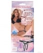 Vibrating Lovers Thong w/Stroker Beads Black O/S