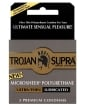 Trojan Supra Ultra-Thin Polyurethane Condoms - Box of 3