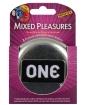 ONE Mixed Pleasures Condoms - Box of 3