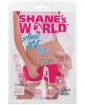 Shane's World Anal 101 Intro Beads - Pink
