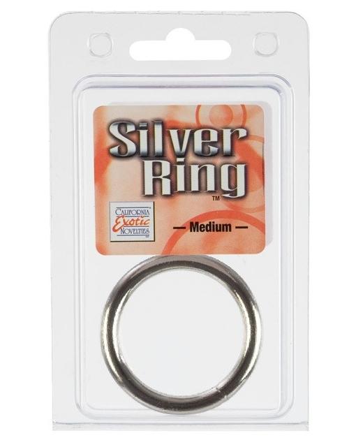 Metal Ring Medium - Silver