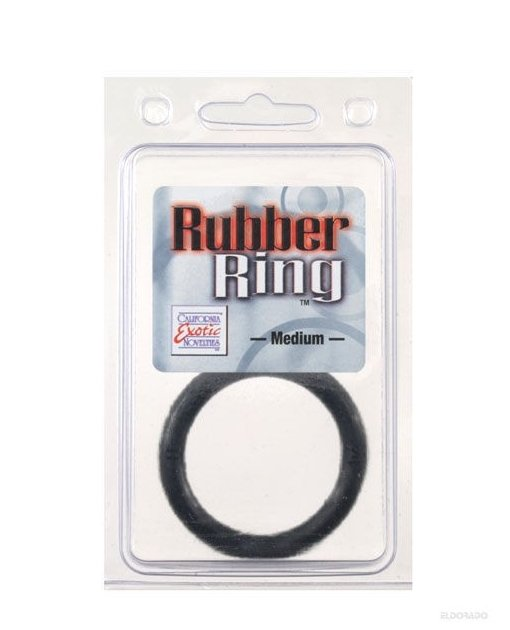 Rubber Ring Medium - Black