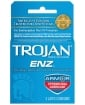 Trojan-Enz Spermicidal Lubricated Condoms - Box of 3