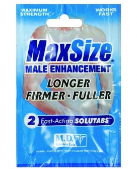 Max Size - 2 Caplet Packet