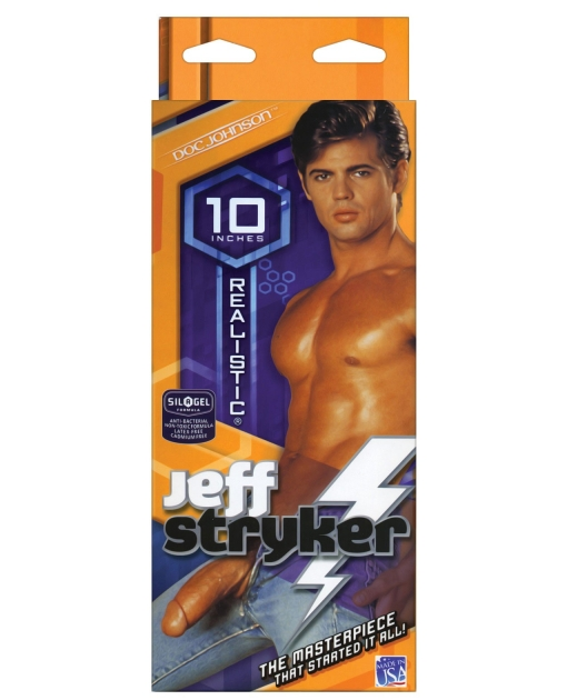 """Jeff Stryker 10"""" Realistic Cock"""