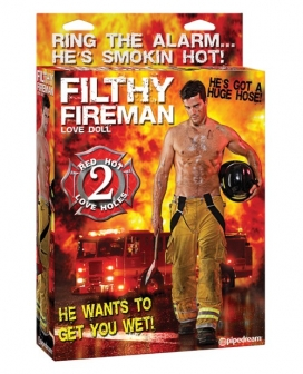 Filthy Fireman Doll