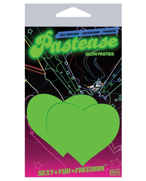 Pastease Glow in the Dark Heart O/S