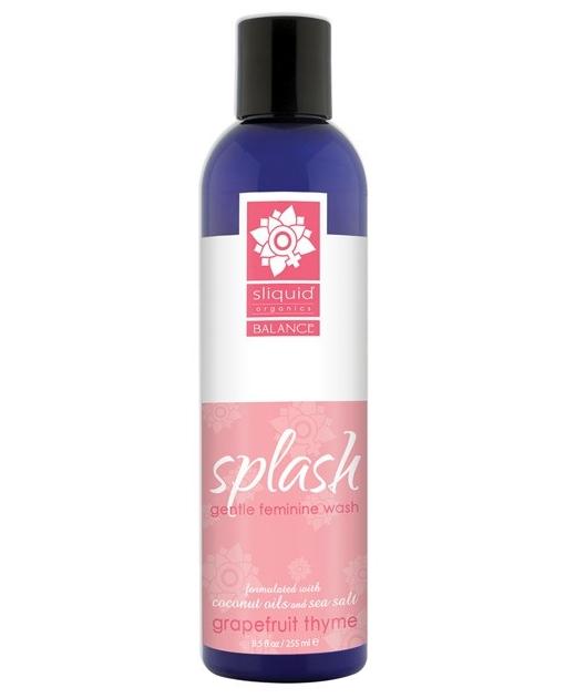 Sliquid Splash Feminine Wash - 8.5 oz Grapefruit Thyme