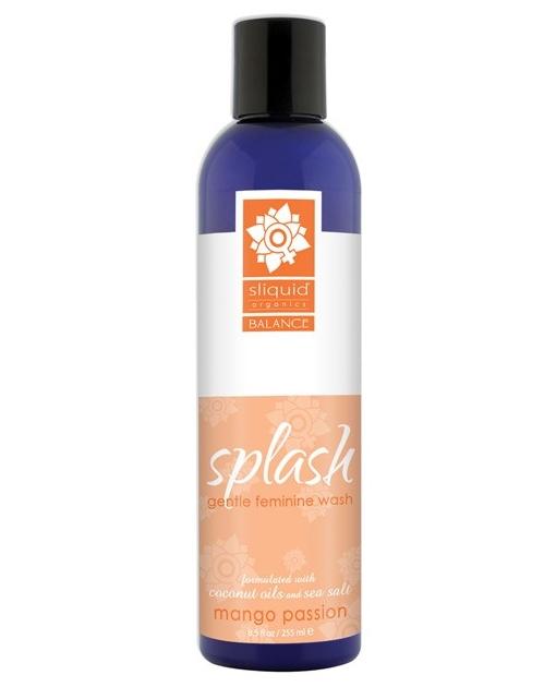 Sliquid Splash Feminine Wash - 8.5 oz Mango Passion