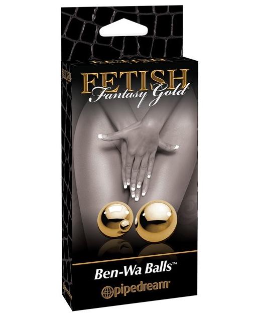 Fetish Fantasy Gold Ben Wa Balls