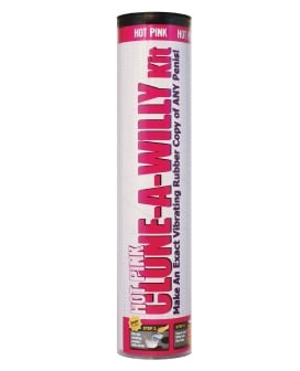 Clone-A-Willy Kit Vibrating - Hot Pink