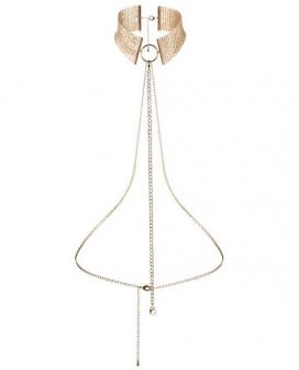 Bijoux Indiscrets Desir Metallique Collar - Gold