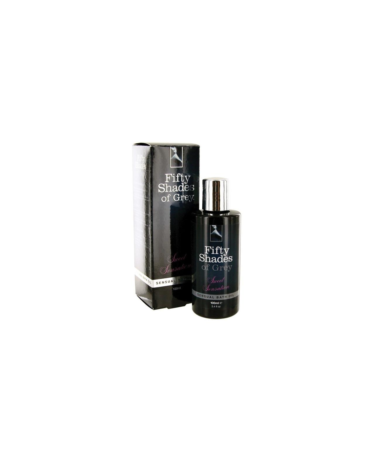 Fifty Shades of Grey Sweet Sensation Sensual Bath Oil - 3.4 oz