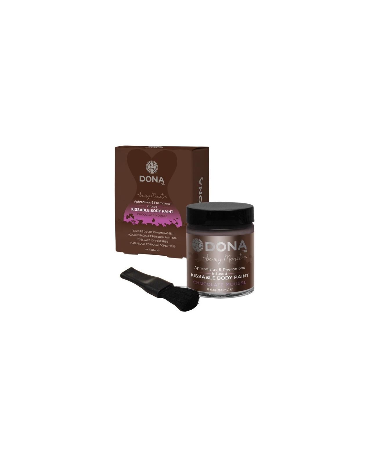 Dona Body Paint - 2 oz Chocolate Mousse