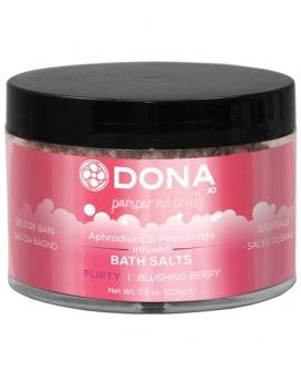 Dona Bath Salt Flirty - 7.5 oz Blushing Berry