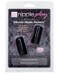 Nipple Play Silicone Nipple Suckers - Black