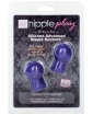 Nipple Play Advanced Silicone Nipple Suckers - Purple