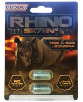 Rhino 7 II - 2 Capsule Blister