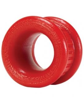 "Oxballs Neo Short 1.25"" Ballstretcher - Red"