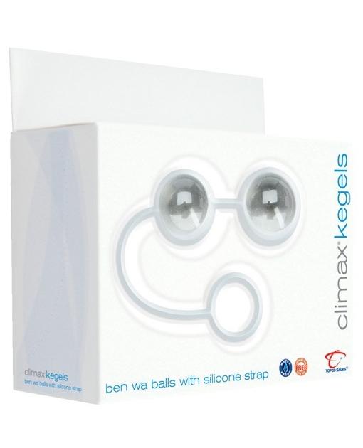 Climax Kegel Ben Wa Balls w/Silicone String