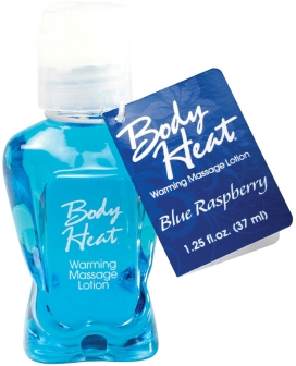 Mini Body Heat - 1.25 oz Blue Raspberry