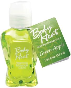 Mini Body Heat - 1.25 oz Green Apple