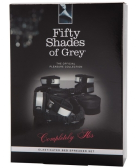 Fifty Shade of Grey Completely His Bed Spreader w/Elasticated Straps