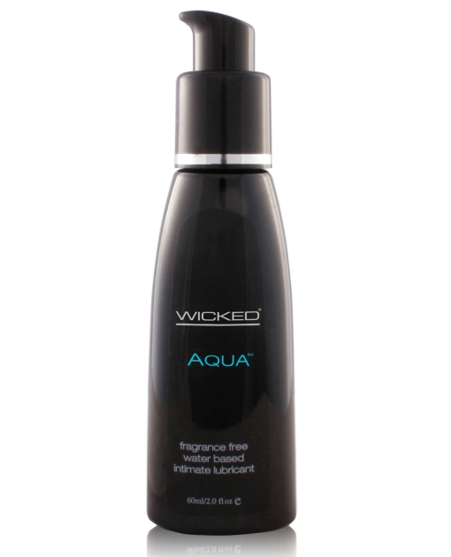 Wicked Sensual Care Collection Aqua Waterbased Lubricant - 2 oz Fragrance Free