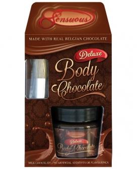 Sensuous Deluxe Body Chocolate - 70gm Jar