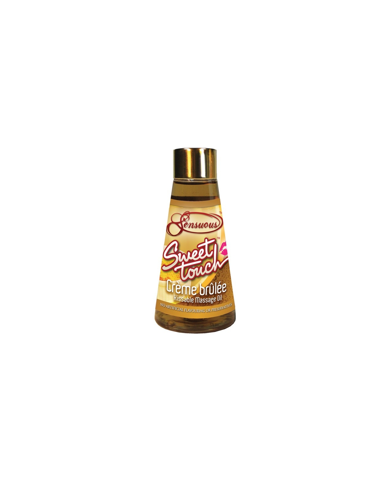 Sensuous Sweet Touch Massage Oil - 125 ml Creme Brulee