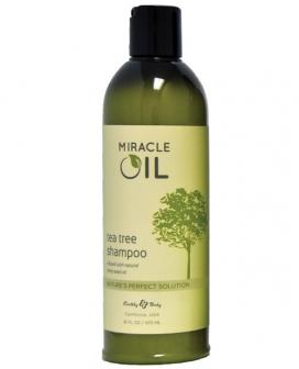 Earthly Body Miracle Oil Shampoo - 16 oz Tea Tree
