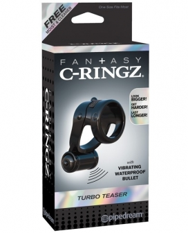 Fantasy C-Ringz Turbo Teazer - Black