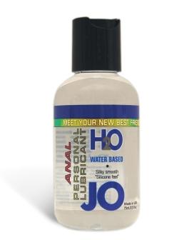 System JO Anal H2O Lubricant - 2.5 oz