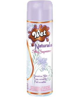 Wet Naturals Glycerin & Paraben Free Silicone Based Personal Lubricant - 3.3 oz Silky Supreme