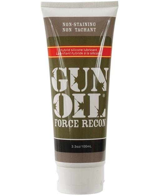 Gun Oil Force Recon Silicone/Water Based Hybrid Lube - 3.3 oz Tube