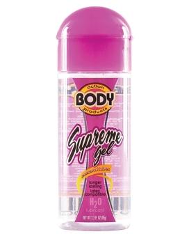 Body Action Supreme Water Based Gel - 2.3 oz Bottle