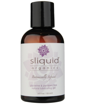 Sliquid Organics Natural Lubricating Gel - 4.2 oz